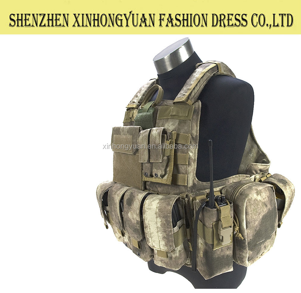 china made high quality bulletproof life tactical vest with lower price