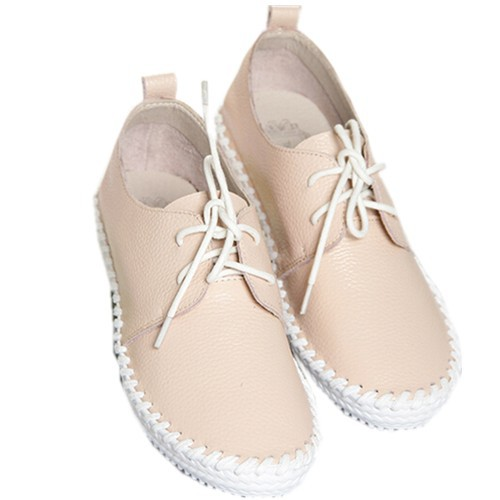 f8596f9f7f19 Get Quotations · New 2015 Ladies Trendy round Toe Casual driving moccasins Flat  Shoes Women Flats Lace Up Solid