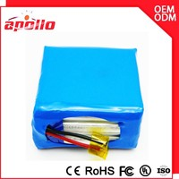 Manufacture price 48v ev battery /14.8v 20000mah lipo battery pack