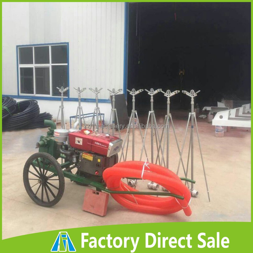 Easy- operation Agricultural Traveling Farm Mobile Sprinkling Irrigation