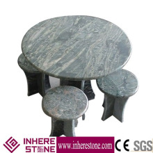 wholesale granite table set garden furniture outdoor