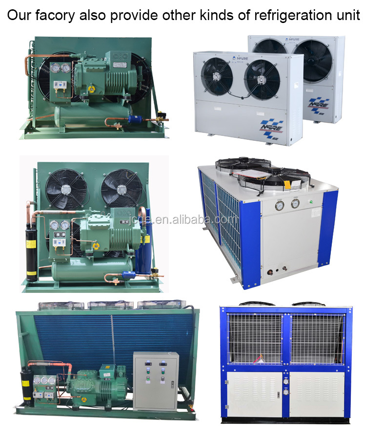 8HP Quick freezing equipment piston refrigerant compressor