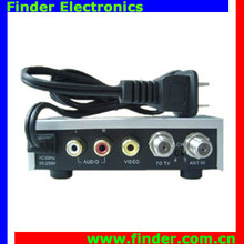 RF MODULATOR TV System AV-RF audio video converter AV to RF Converter