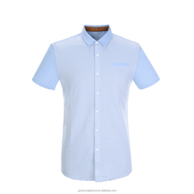 Men's fashion design knit shirts with short sleeves