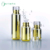 Design raffinato Oro Cosmetic Packaging 30 ml 50 ml 100 ml di Lusso Airless Bottiglie di Plastica