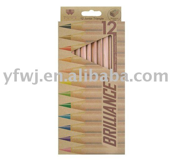 12pcs color pencil set for children