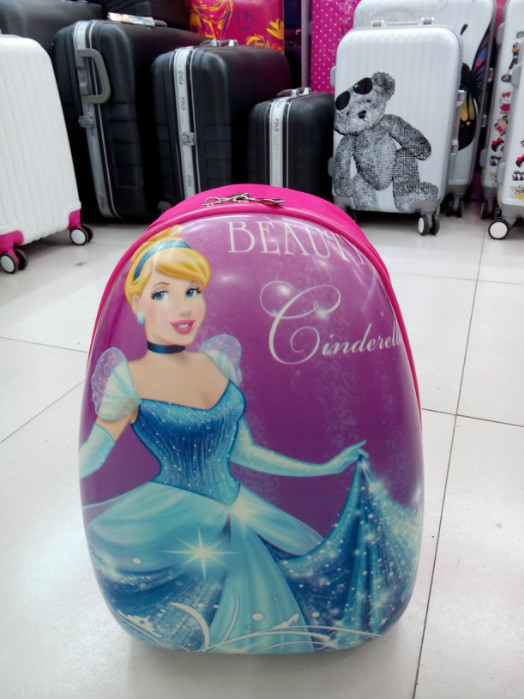 many kinds of cartoon characters cartoon luggage children carton luggage