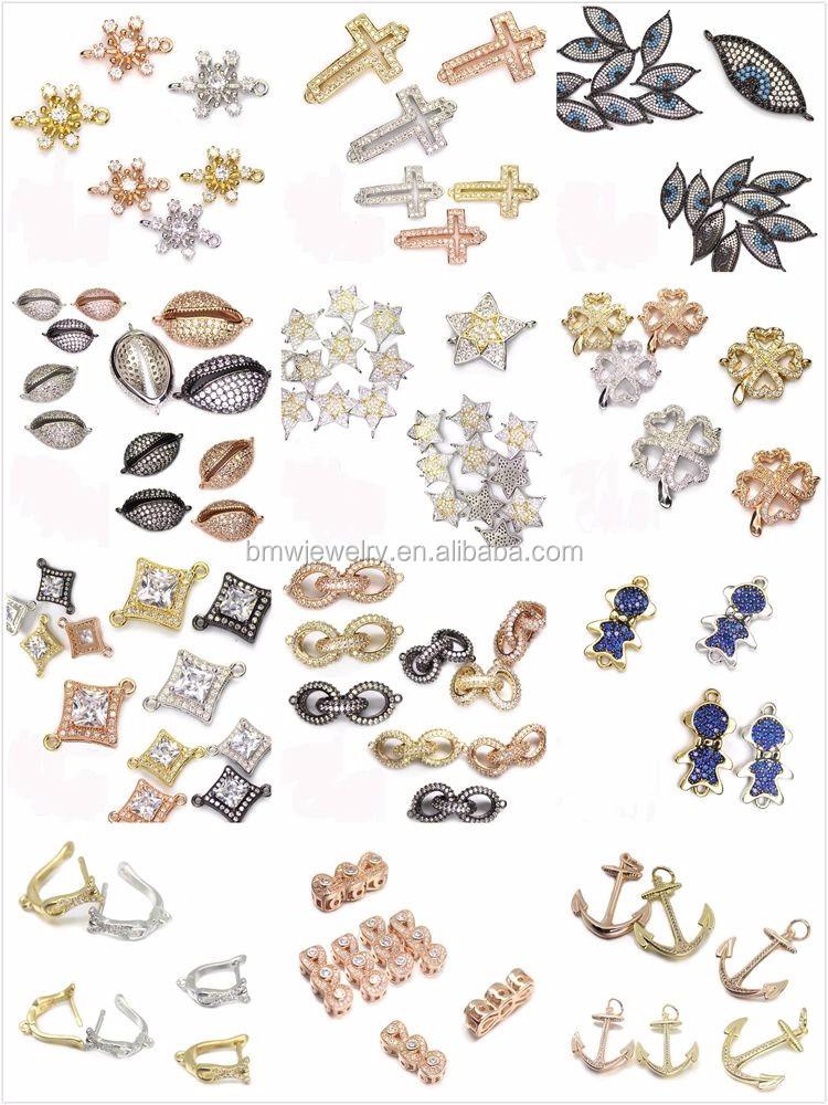 Wholesale DIY Jewelry Disco Ball Beads 6mm 8mm 10mm 12mm Micro Pave Black CZ Zircon Round Beads