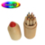 Environmental protection wooden colored pencils set