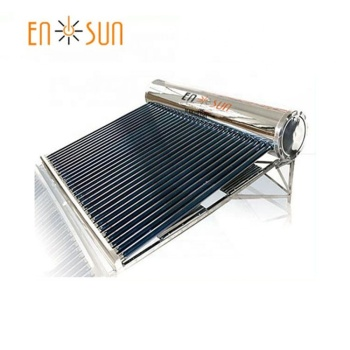 Ensun stainless steel 80L to 300L vacuum tubes unpressurized solar water heater