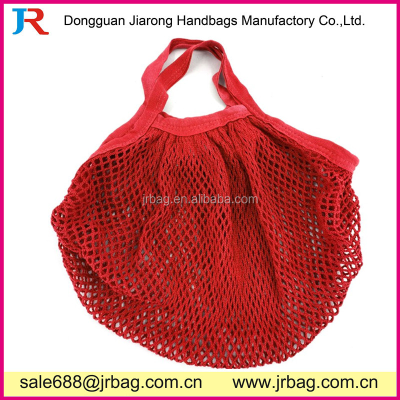 100% Cotton Reusable Mesh Produce Bags mesh shopping bag