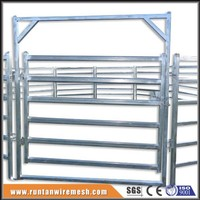 Anping galvanized Square Pipe Welded horse pens (Factory Trade Assurance)