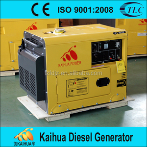 Factory price homes use with good quality and CE offered diesel generator 5kw genset