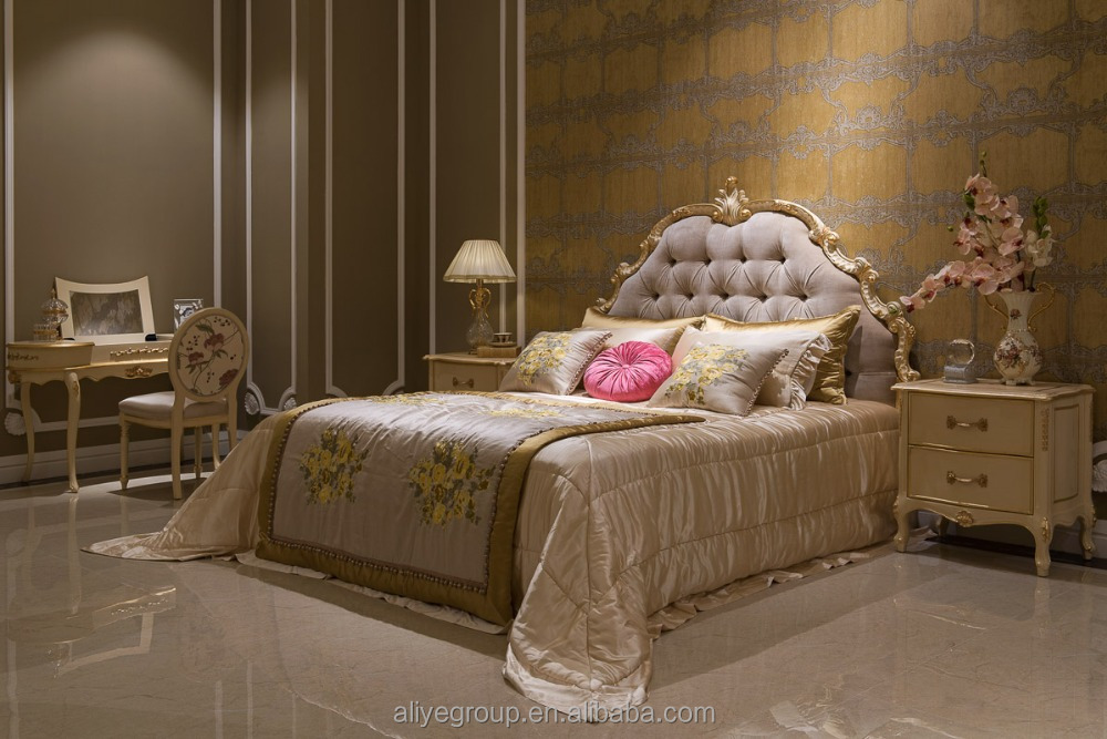 Rococo French Furniture Palace Bedroom Supplieranufacturers At Alibaba Com