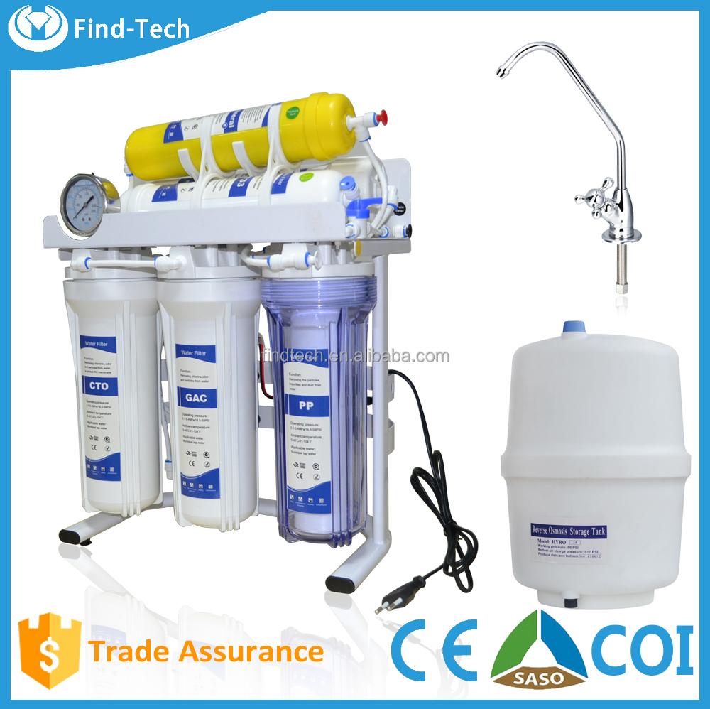 Uso dom stico 6 etapa de filtro de agua alcalina mineral - Filtros de osmosis inversa precios ...