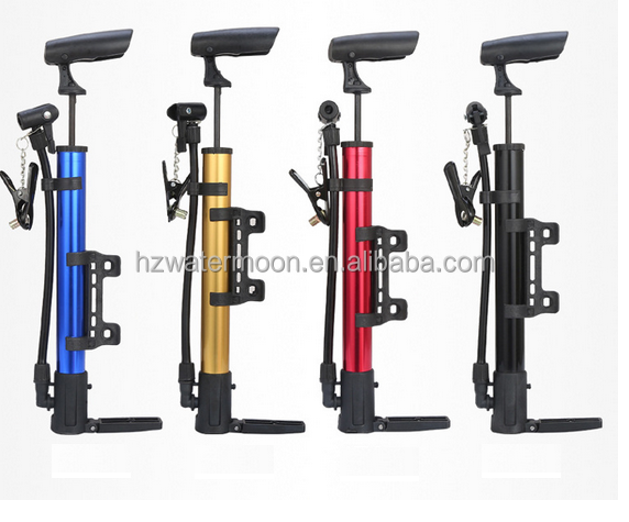 High Quality Bike Hand Tire Inflator/Mini handle Bicycle Pump/color customized bike air pumps