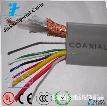 Hotsale 7 Core 12 Core Pvc Flat Coaxial Elevator Cable - Buy ...