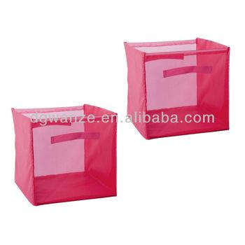Attirant Mesh Storage Hamper/pop Up Mesh Laundry Hamper/bolt Mesh Folding Storage  Bins