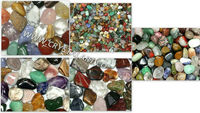 Mix Gemstone Tumbled Pebbles Stone