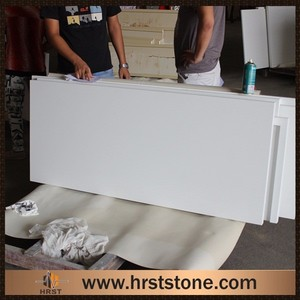 Faux quartz countertop crystal white quartz worktop