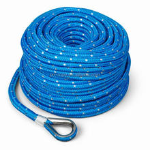 double braid nylon rope coloured rope used marine rope E:sale10@sdsantong.net