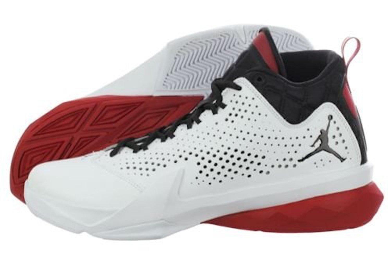separation shoes 260e7 54891 Get Quotations · Nike Jordan Men s Jordan Flight Time 14.5 White Black Gym  Red Basketball Shoe 16