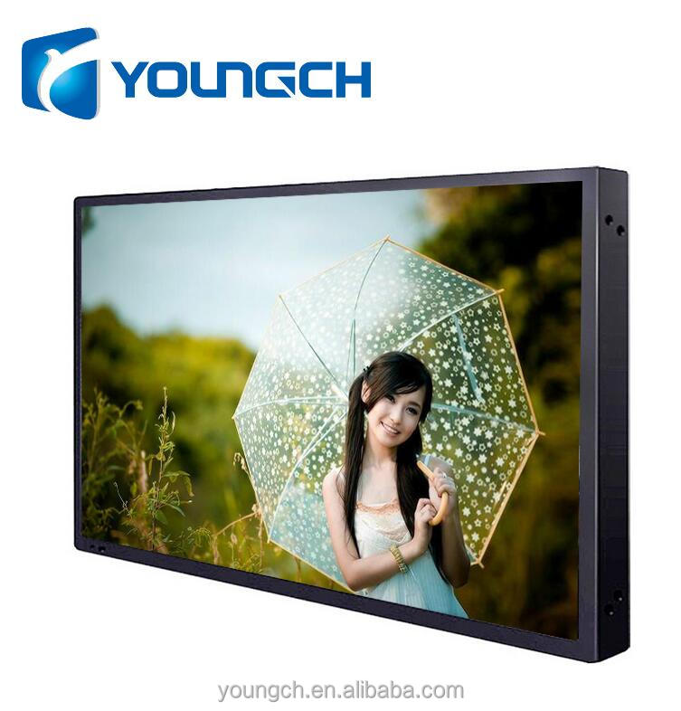 Wall mounted metal frame tft display screen high resolution 47 inch lcd tv parts to assemble