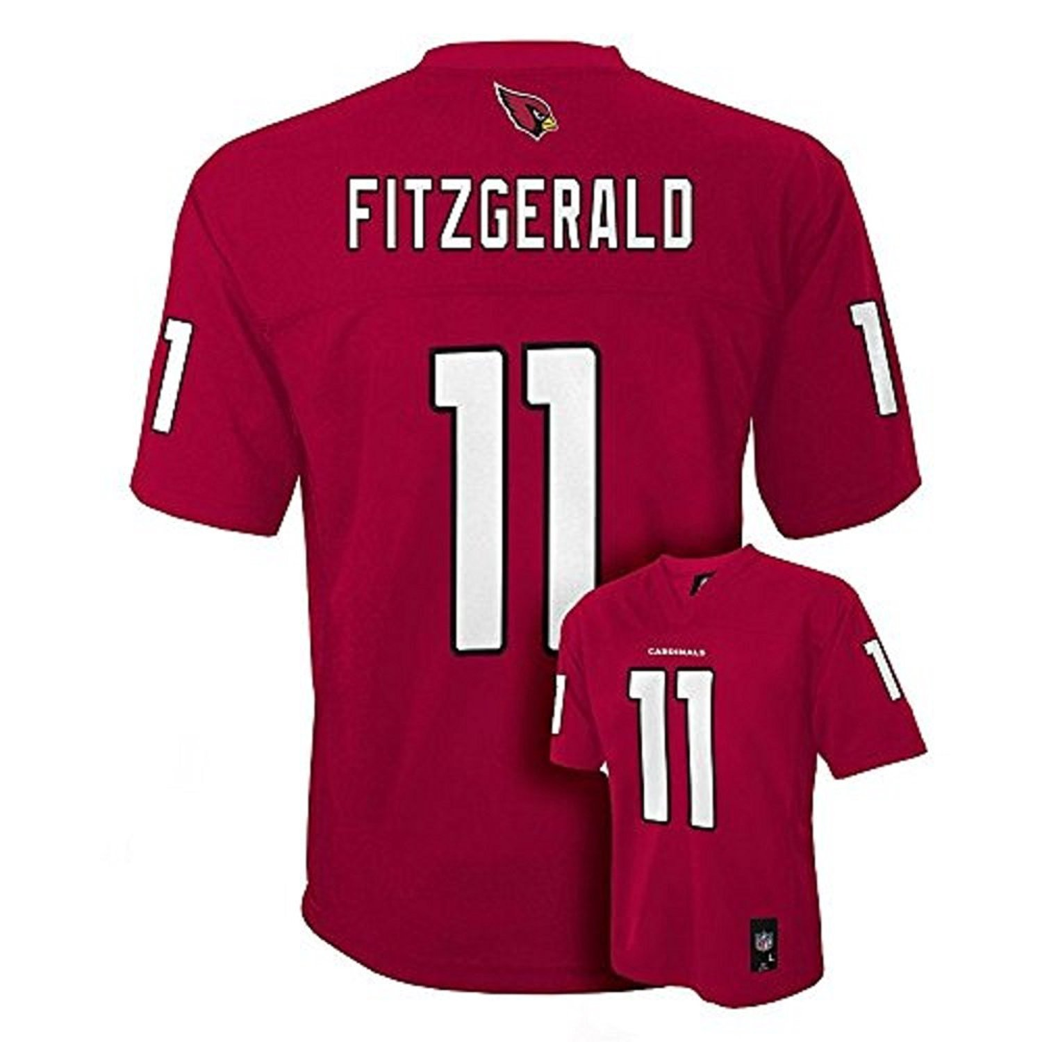 Buy Larry Fitzgerald Arizona Cardinals Helmet jersey T-shirt Shir in ... 9f1f0d2dc