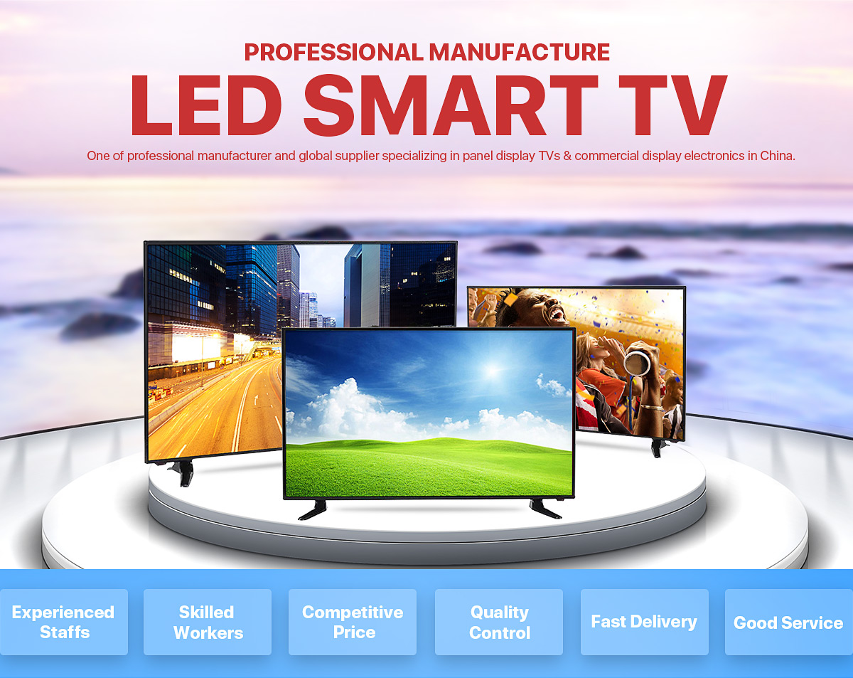 7ed1e71d653 China supplier 43 inch flat screen Led tv smart TV for wholesale Cheap Full  HD Smart LED TV