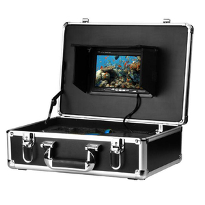Fish Camera Underwater Fishing Camera Video Recorder 20M Cable 7'' HD LCD Fish finder Camera