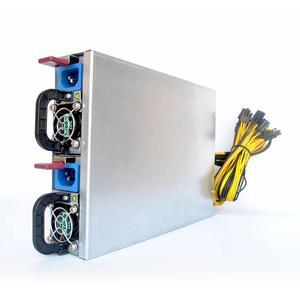 high quality server power supply 12v 2600w single output 1U PSU for S9 S11  L3+ D3 R4 A7 E9 miner