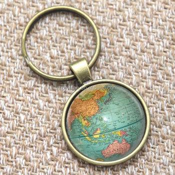 Vintage globo llaveroplaneta tierra mapa del mundo arte llavero vintage globo llavero planeta tierra mapa del mundo arte llavero tierra impresin llavero gumiabroncs Gallery