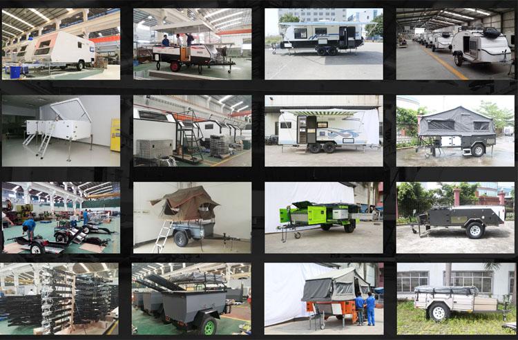 RV Wohnmobile Wohnwagen Mobile RV Anhänger Caravan Für Camping