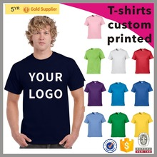 2016 NEW DESIGN mens cotton cheap t-shirts custom printed