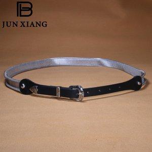 High Quality Belt Metal Chain Female PU Belt