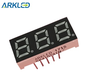 golden factory price 0.28 inch 7 segment led display good quality 3 digit module