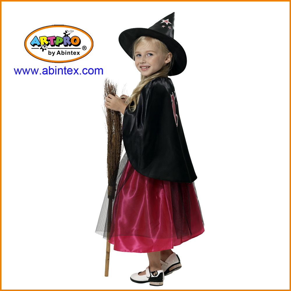 witch costume 05 703 with cat embroidery for with artpro