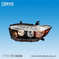 Tuning Light For Toyota Highlander,Car Head Lamp,Car Accessories ...