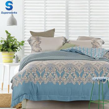 Super Soft 100% Tencel Bed Sheets Sets For Wedding