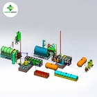 waste engine oil recycling to diesel machine/used motor oil to diesel equipment