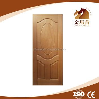 Beautiful Interior Solid Oak Wood Door Natural Colorbedroom Door