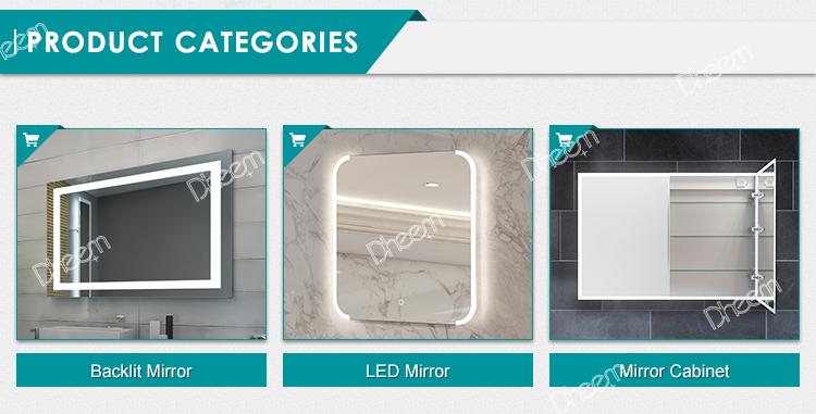 HA CONDOTTO LA Luce Dello Specchio di Tocco Interruttore del Sensore