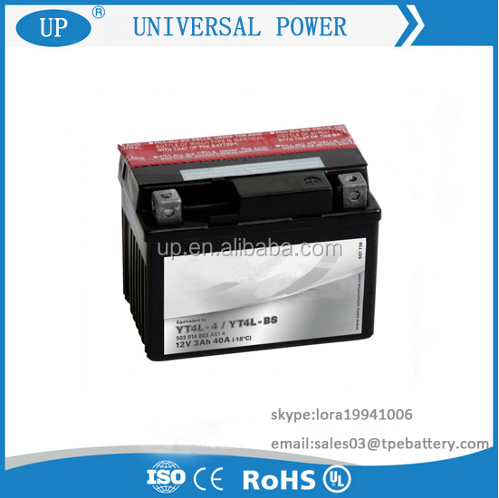 Manufacture Maintenance Free Lead Acid Battery 12N5 China Motorcycle Battery 12v 5ah10hr MF Motorcycle