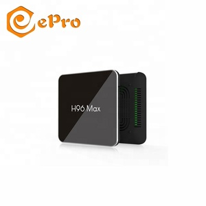 epro company Unique Design new chip H96 Max X2 4GB+32GB Powerful Amlogic S905X2 Quad Core 4K Android 8.1 TV Box quality
