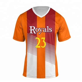 Unique orange soccer jerseys customized cheap soccer uniforms for teams ac471de72