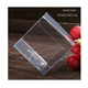 Custom clear plastic packaging box Acetate pvc folding retail package boxes