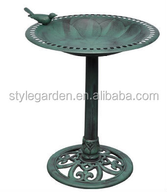 Plastic Garden Bird Bath