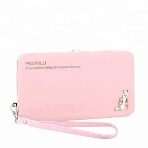 Pidanlu Famous Brand Women Wallets Female Phone Wallet Case Handle Clutch Purse Bag