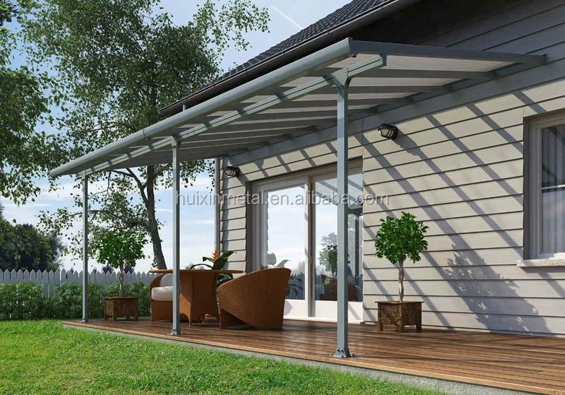 Sturdy aluminium polycarbonate patio cover balcony canopy outdoor patio covering & Sturdy Aluminium Polycarbonate Patio CoverBalcony CanopyOutdoor ...