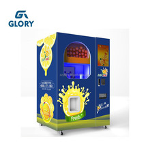 Factory Supplier Automatic Vending Orange Juice Vending Machine